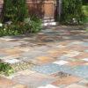 salerno rustic in outdoor garden